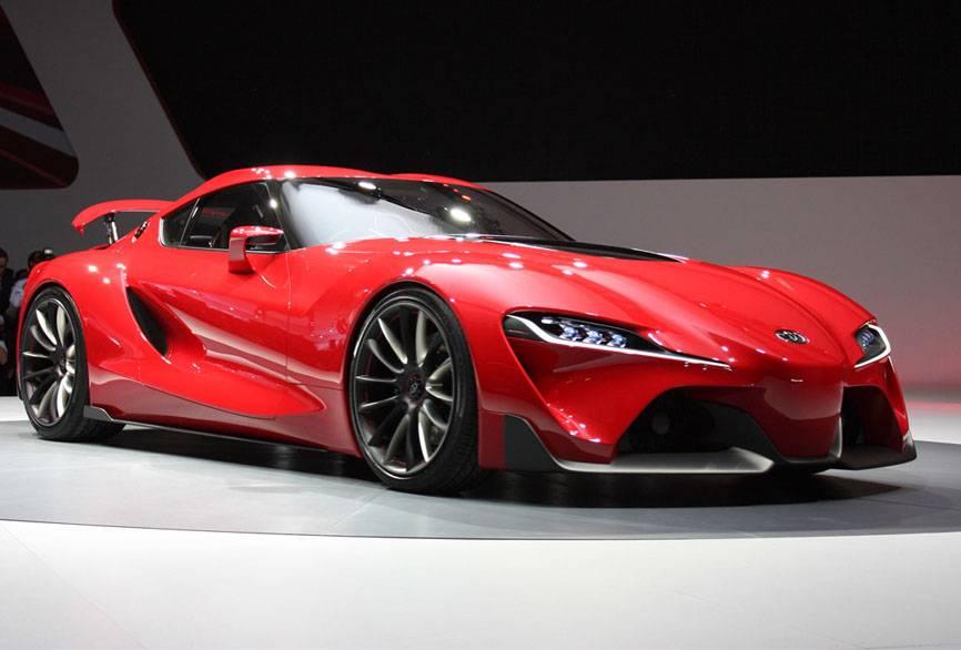 фото Toyota FT1 супра