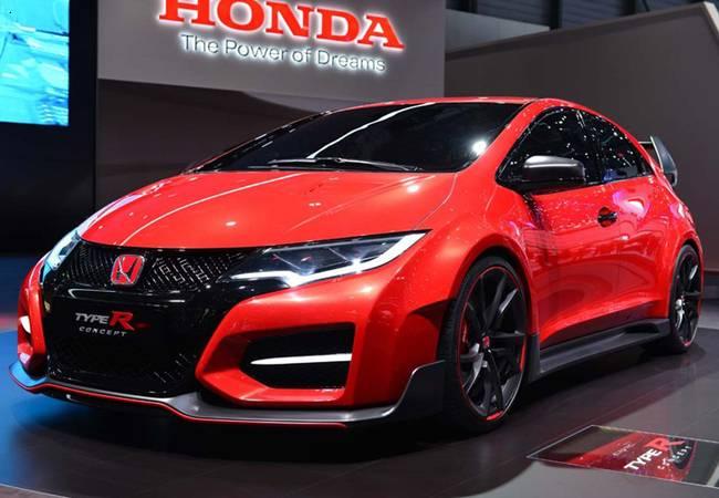фото Honda Civic Type-R в женеве 2014