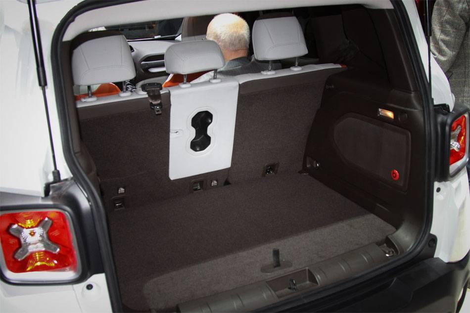 фото багажника Jeep Renegade 2015