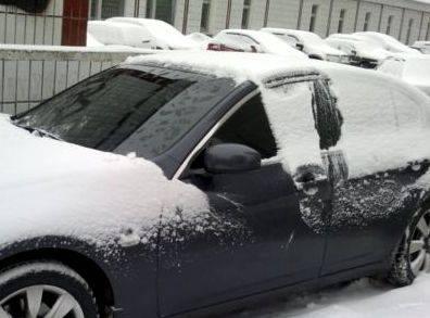 Чехол для защиты от инея и снега стакла