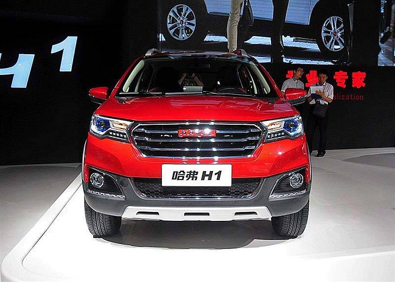 фото нового Great Wall Haval H1