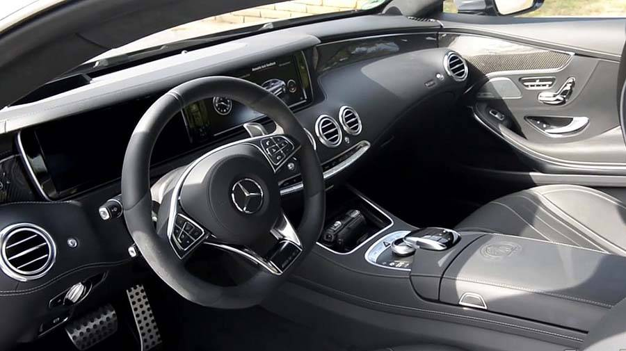 Mercedes S Coupe 2015 new foto