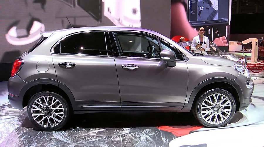 картинки Fiat 500 X 2015