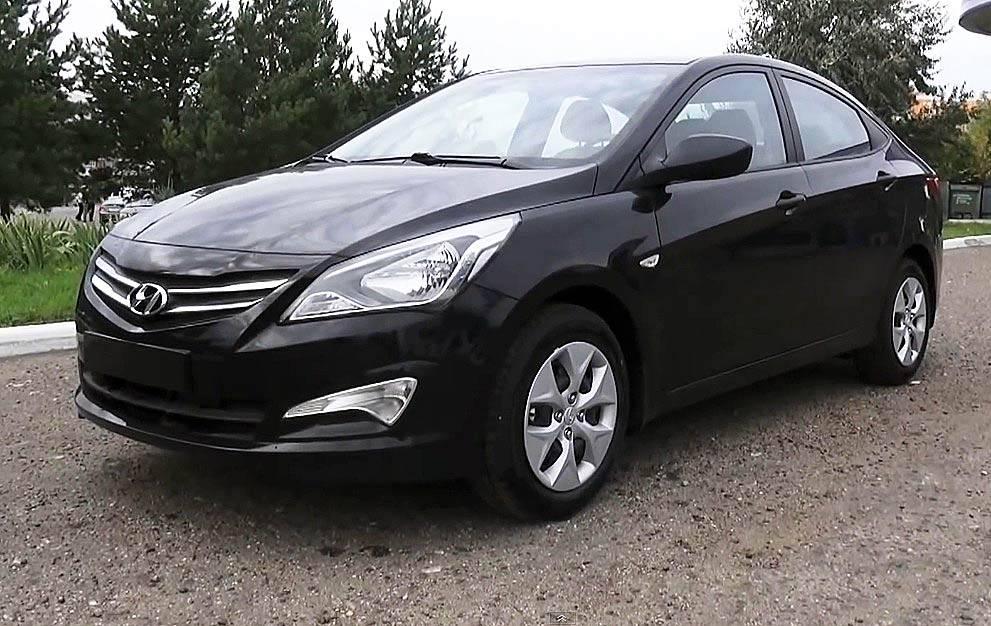 New Hyundai Solaris 2015