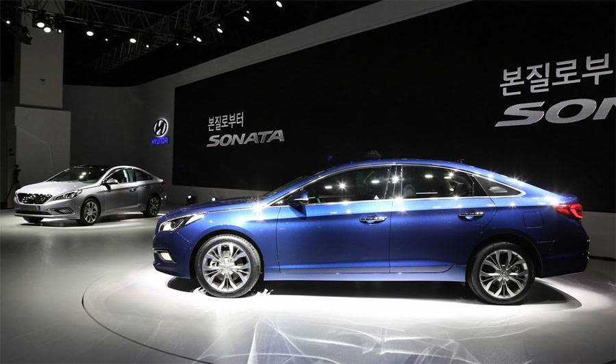 фото Hyundai Sonata 2014-2015