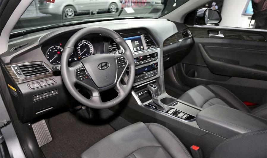 фото салона Hyundai Sonata 2014-2015