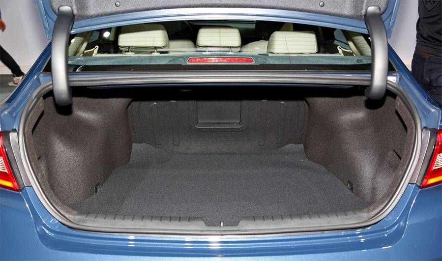 фото багажника Hyundai Sonata 2014-2015