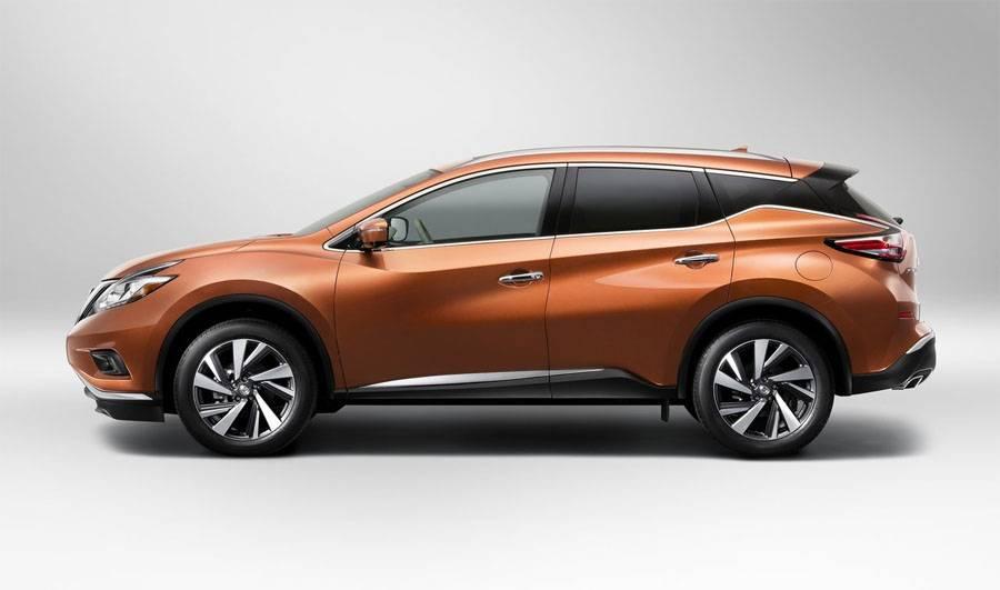 профиль Nissan Murano 2014-2015