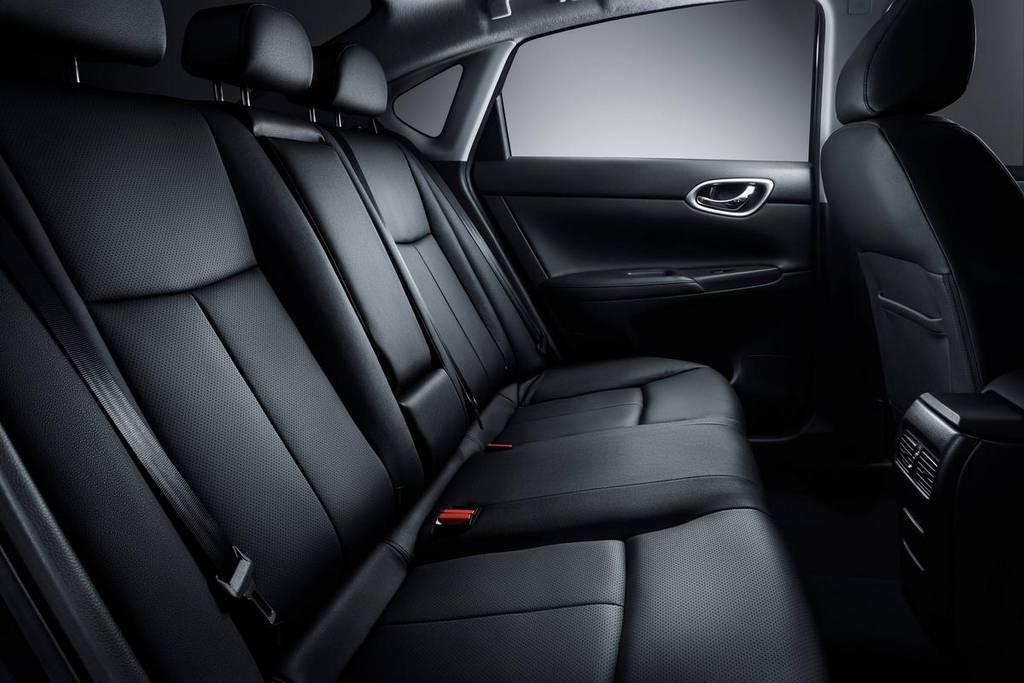 фото Nissan Sentra 2014-2015 задние сиденья