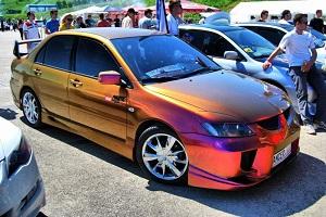 Эффектная покраска автомобиля