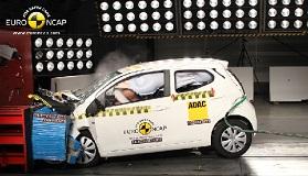 Краш-тест Toyota Aygo 2014