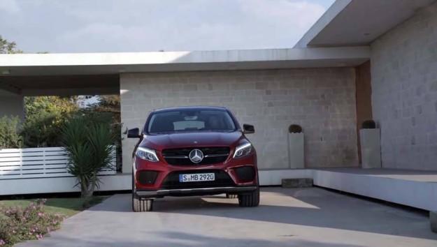 Mercedes-Benz GLE Coupe 2015 – в расчете на конкуренцию