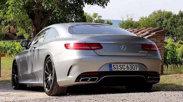 Mercedes-Benz S-Class Coupe 2015– двухдверная роскошь