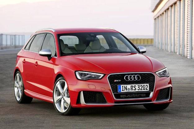Новая Audi RS 3 Sportback - 2015 года