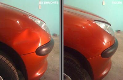 PDR - удаление вмятин без покраски