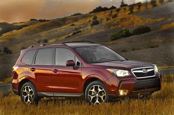 Subaru порадовал новым кроссовером Субару Форестер 2014-2015